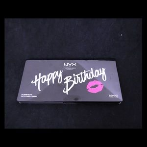 NYX Happy Birthday eyeshadow pallet